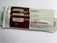 Wholesale 50 Pieces Box fougera ointment Used for Permanent Makeup Creams Ointment VITAMIN A VITAMIN D OINTMENT Tattoo Accesories