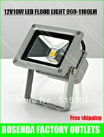 Wholesale V W led flood light white and warm white Floodlight Outdoor Lamp Input Dc V safe voltage factory sale free ship