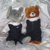 build a bear - 2014 new teddy bear clothes fashion teddy bear bridegroom outfit to fit quot bear the quality and material like quot build a bear quot in USA
