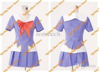 high school uniforms - The Future Diary Heroine Gasai Yuno Cosplay Costume High Quality Custom School Uniform