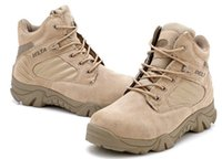bang pu - NEW Outdoor Bang helped Delta Boots Tactical Boots Desert Boots zipper black sand color