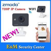 arrival ip - Zmodo new arrival P Color Sensor Home monitor IP Camera network mini box camera Smart cube wifi cameras ZM SH75D001
