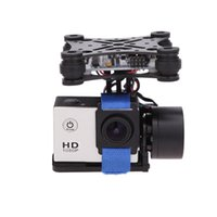Wholesale Camera For Fpv - CNC 2 axis Brushless Gimbal Camera Mount Mounting Bracket with Motor & Controller FPV PTZ for Gopro 2 3 3+ DJI Phantom ST-303 RM325