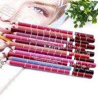 Wholesale 12Colors Set Waterproof Lip Liner Pencil Women s Professional Long Lasting Lipliner Lips Makeup Tools