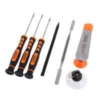 Wholesale 7 in Repair Pry Tools Screwdrivers Set Kit Precision Disassembling Tool for iPhone Plus S