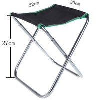 Wholesale Folding Aluminum PVC Oxford Cloth Chair Outdoor Patio Fishing Camping with Carry Bag Green