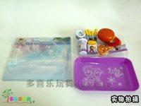 Wholesale 2014 New Frozen Kids Play House Toys Anna Elsa Hamburger Toys Playset Frozen Pretend Play Kitchen Toys k81F