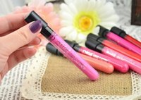 Wholesale Waterproof lipstick lip gloss colors lipgloss velvet matte lipstick red color vitality cerise star