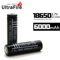 Wholesale 2015NEW UltraFire mah Battery v li ion rechargeable batteries for Power bank flashlights