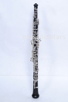 Wholesale Semiautomatic ebony Oboe Silver Plated C Key for Professionals