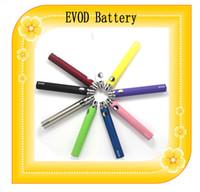 Wholesale EVOD Battery Electronic Cigarette mah mah mah EVOD Battery for MT3 CE4 CE5 CE6 E Cigarette EVOD Starter kit Ego Kit