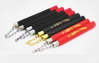 Wholesale New Kung Fu Training Practice Foam Padded Fitness Dragon Pattern Nunchucks Nunchaku