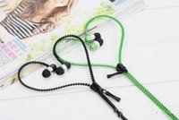bass fit - Zipper Earphone Headphone Mic Earbuds for iphone s plus fit all android phone mm Stereo Bass In Ear