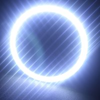 Angel Eyes BMW all New Arrival!!!!1pair(2pcs) 36SMD Car Led Headlight 2835 Angel Eye LED Halo Ring Angel Eyes Warning Lamps White Blue Red Free Shipping