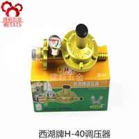 Wholesale West Lake brand voltage regulator with table H40 single nozzle liquefied gas gas flow home pressure