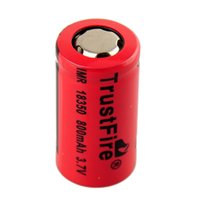 Cheap Trustfire 18350 3.7V 800mAh Rechargeable Battery 2104 Top quality and new style 18350 800 mAh rechargeable battery 0204080