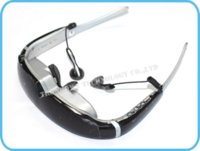 Wholesale Arrival P Portable quot Virtual Personal Cinema Theater Stereo MP3 AV VGA In D Video Glasses Extra HDMI Line