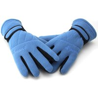 Wholesale New Outdoor Sports Cycling Thickening Gloves Mittens For Men Women Winter Feel Warm Bicycle Motorcycle Hiking Gloves