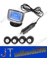 Wholesale InCTPMS EXT01 TPMS LCD Auto Car Tire Tyre Pressure Monitor Monitoring System Pressure Gauge with Sensors MYY10991A