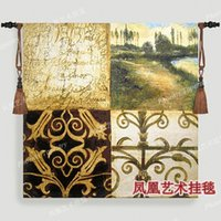 Wholesale European classical Letter from home Art tapestry hot selling soft fabric wall hangings gift fashion