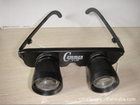 Wholesale Enlarge times see floating fishing closer to the telescope Fishing wearing glasses lanyard style gear knob Binoculars