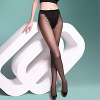 silk panty hose - HOT Sexy Stockings Sexy Pantyhose Women Black Sheer Transparent Silk Panty Hose Women Stockings Leggings EQ6181