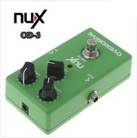 Wholesale High Quality Electronic New NUX OD Overdrive Guitar Guitarra Violao Electric Effect Pedal Ture Bypass Green Musical Instrument Parts