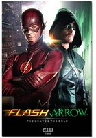 arrow charts - Top Selling The Flash vs Arrow TV Series Poster Print Poster Silk Wall Poster x20 inch Big Office Room Prints Mural Decors