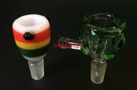 bowling ball - 2016 NEW Heady glass Bowl Slides Glass Bowl for Bongs With Male female Joint mm mm Eye Ball Bowls for glass water Bongs