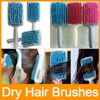 Wholesale Magic Quick Drying Comb Micro Fiber Dry Hair Brushes Quick Dry Absorbent Care Combs DHL