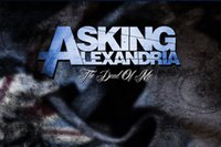 ask live - Living Room x40cm Wall Stickers Asking Alexandria The Death of Me Bedroom Wall Decorative Poster