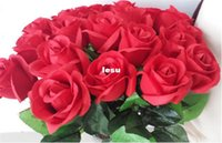 Wholesale Fashion Hot Fresh rose Artificial Flowers Real Touch Rose Flowers Home decorations for Wedding Party Birthday