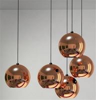 Wholesale Hot Selling Modern Dia40cm Tom Dixon Mirror Ball Pendant Lamp