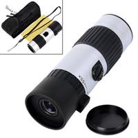 Wholesale New x x Binoculars Mini Telescope Adjustable Monocular Zoom Pocket Scope Sports Outdoors Night Vision Hunting Concert