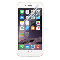 apple cleaning cloth - Front Transparent Clear LCD Screen Protector Guard Film with Cleaning Cloth For iPhone S Plus SE S S Note Galaxy S6 S5 S4