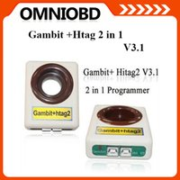 Wholesale Key Programming Machines - Free shipping Top quality Gambit KEY Programmer + Hitag2 V3.1 2 in 1 Programmer key programming machine