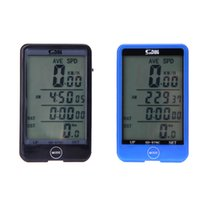 Wholesale Multifunction Waterproof Wireless Bike Bicycle Computer Cycling Odometer Speedometer Touch Button LCD Backlight Backlit