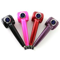 Wholesale 2015 New LCD Pro Hair Curler Styler Heating Hair Styling Tools Automatic Hair Curl Magic Hair Curlers Wand EU US Plug