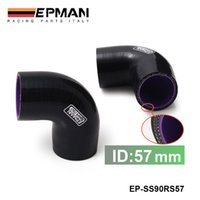 Wholesale EPMAN Universal quot Ply Degree Elbow Silicone Hose Coupler MM Turbo Intake EP SS90RS57