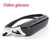 Wholesale 2016 New inch K6 video glasses Virtual Screen Mobile Theater with IPD adjustment TR90 Style P HD video and some p