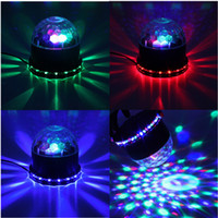 Wholesale AC V Beautiful Design LED Colorful RGB Crystal Magic Ball KTV Party Club Disco DJ Stage Lighting Effect Light Lamp