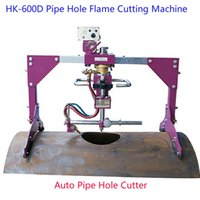 Wholesale Shanghai HUAWEI HK D Intersection Auto Pipe Hole Cutter Flame Gas Cutting Machine for cutting oil pipes chemical pipe