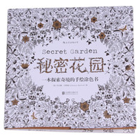 Wholesale Book Secret Garden Chinese VERSION coloring books An Inky Treasure Hunt Art Graffiti Painting Drawing Books