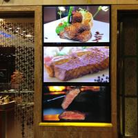 advertising lists - Fast Food Festaurant Design Fast Food Price List with Menu Board and Menu Board Advertising Display Outdoor Waterproof LED Light Box