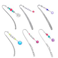 Wholesale High Quality PC Unique Design Silver Tone Bookmark Valentine Theme Gift