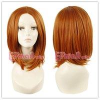 apart fashion - gt gt gt cm Medium Orange yellow Straight Middle Apart Fashion Cosplay wig