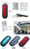 Wholesale DHL free Portable Multipoint Wireless Hands Free Bluetooth In Car Speakerphone Car Kit waitingyou