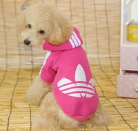 apparel for dogs - Large Dog clothes winter Pet Clothing Big dog coat Hoodie apparel jacket Cotton dog outwears sportswear for dogs XS XL CWY1