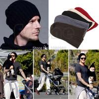 Wholesale 1PC Stylish Unisex Men Hip Hop Warm Winter Wool Knit Ski Beanie Skull Cap Hat