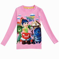 baby inside t shirt - Retails Inside Out new children girls long sleeve shirts spring autumn child baby girls clothing cotton children girls t shirt girls clothes